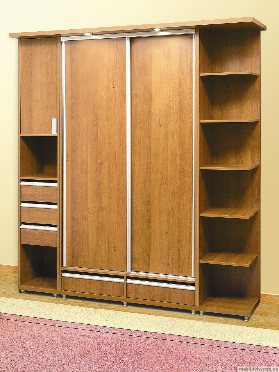 Примеры шкафов-купе от разных производителей - изготовление .